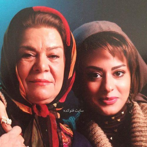 عکس زهرا اوبسی و مادرش زهره صفوی + زندگینامه کامل