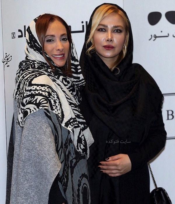 عکس سحر زکریا و آنا نعمتی