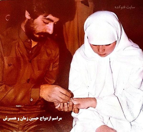 حسین زمان و همسرش + زندگی شخصی خوانندگی