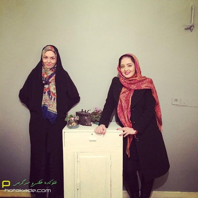 عکس جدید نرگس محمدی و آزاده نامداری