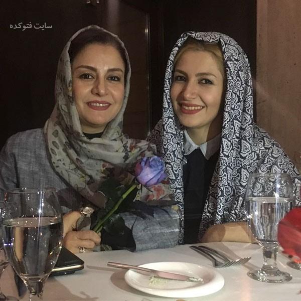 عکس مریلا زارعی و خواهرش ملیکا زارعی