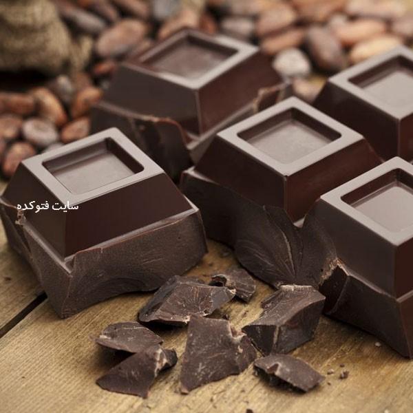 شکلات تلخ ضد سرماخوردگی خانگی