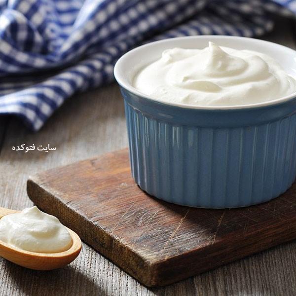 ماست از خوراکی های مفید برای سرماخوردگی