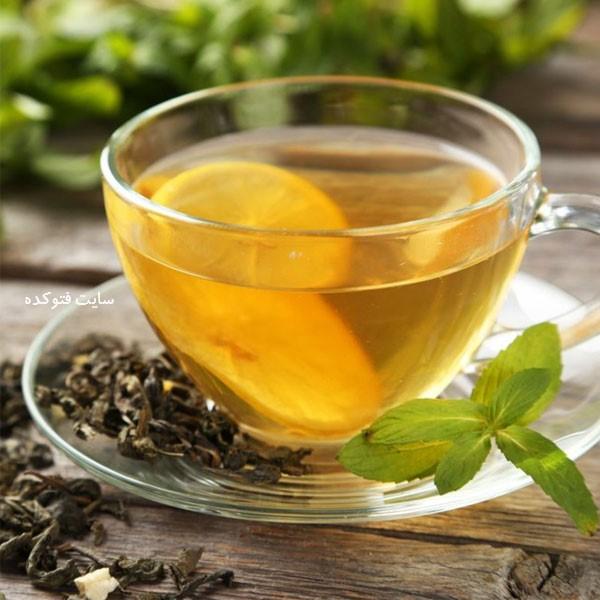 خوراکی های مفید برای سرماخوردگی چای سبز