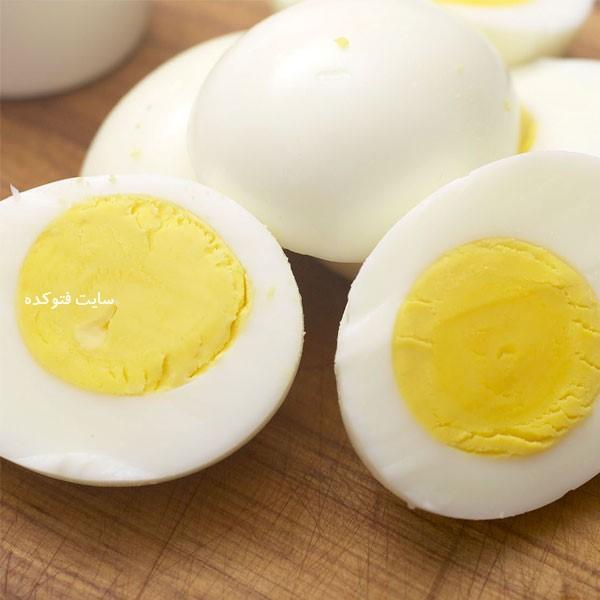 تخم مرغ برای درمان سرماخوردگی با خوراکیها