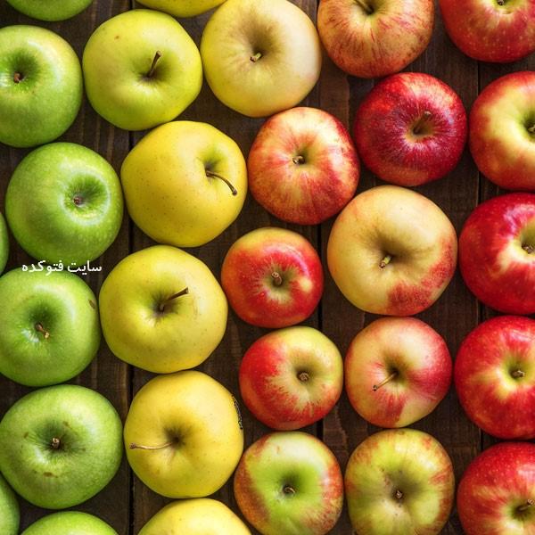 سیب برای درمان سرماخوردگی با خوراکیها