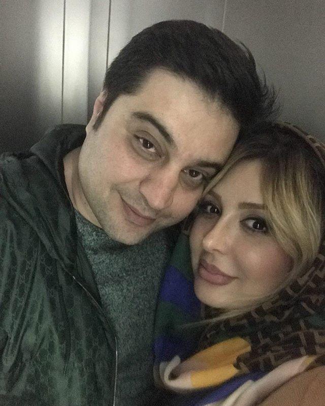عکس های جدید نیوشا ضیغمی و همسرش در سال 1396