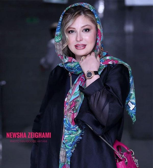 عکس و بیوگرافی نیوشا ضیغمی بازیگر زن ایرانی