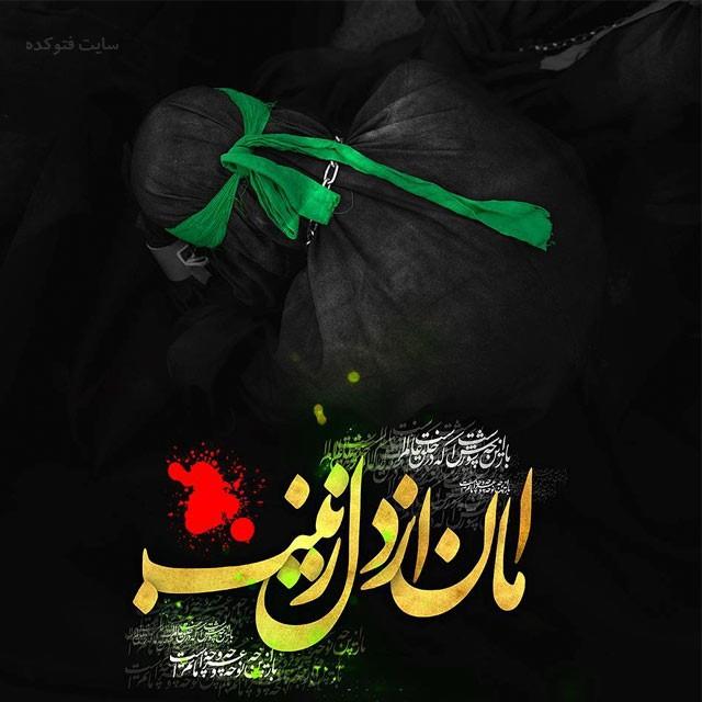 عکس نوشته نوشته حضرت زینب در کربلا