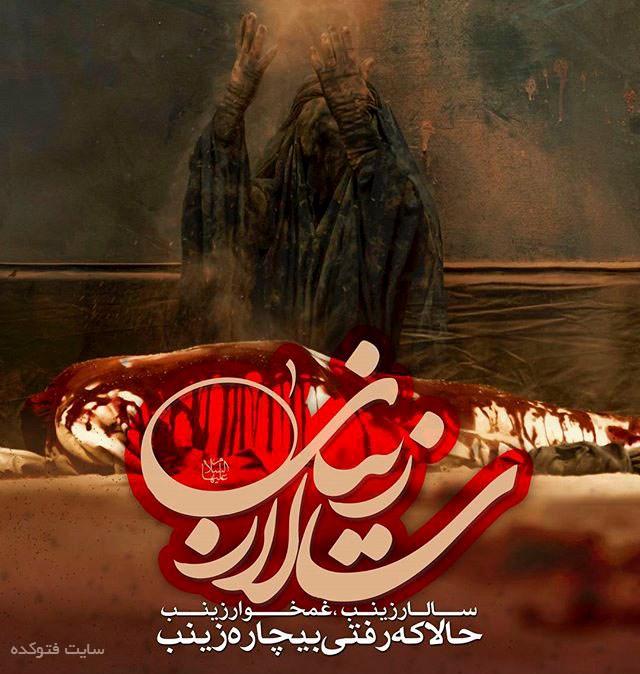 با حضرت زینب ص