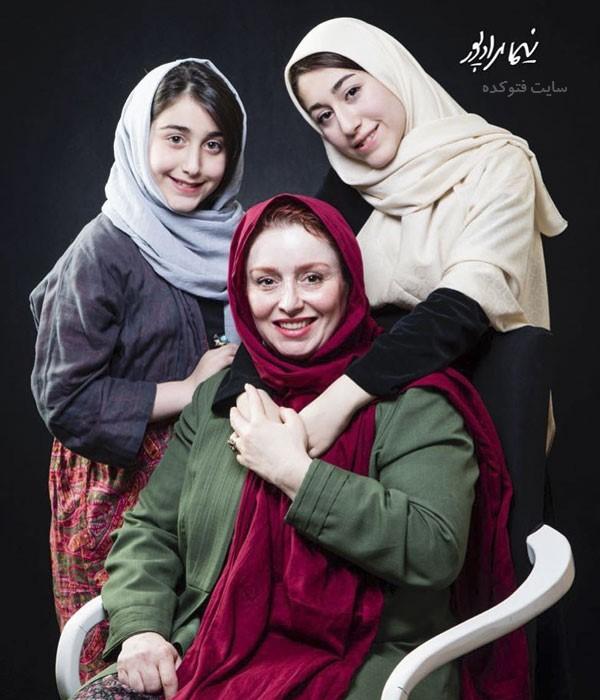 عکس های ژاله صامتی و دخترانش + بیوگرافی کامل