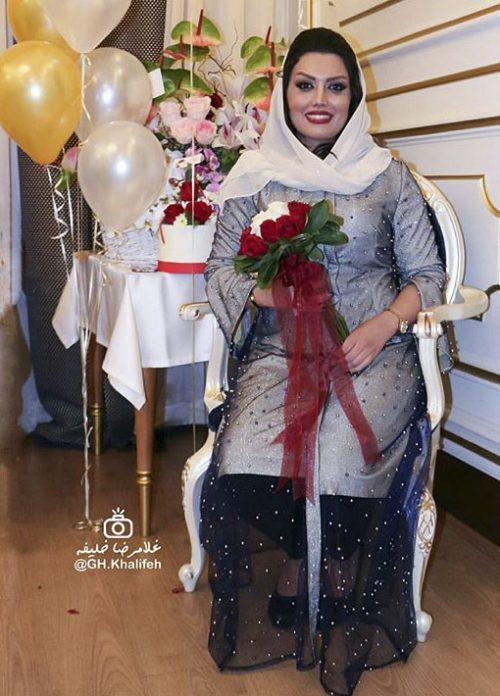 عکس های جشن تولد ژاله درستکار در سال 96