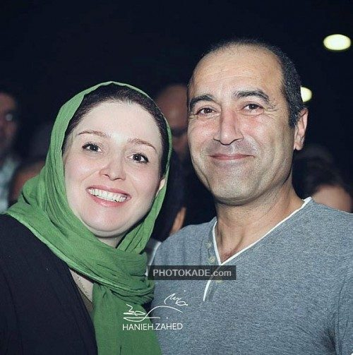 عکس ژاله صامتی و همسرش ایرج سنجری + بیوگرافی کامل
