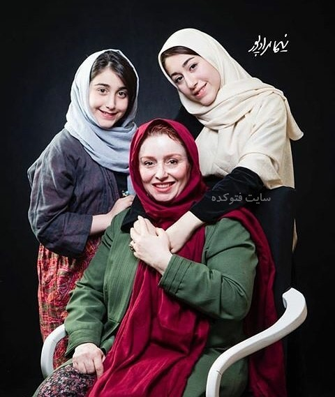 عکس ژاله صامتی و دخترانش یاس و نیاز + بیوگرافی کامل