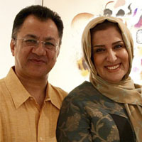 ژیلا امیرشاهی و همسرش جمال الدین طبسی نژاد + بیوگرافی کامل