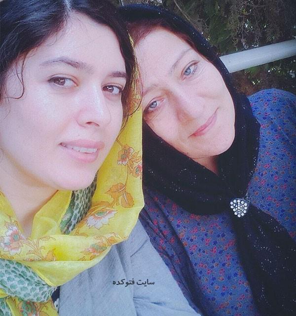 Jila Shahi و مادرش