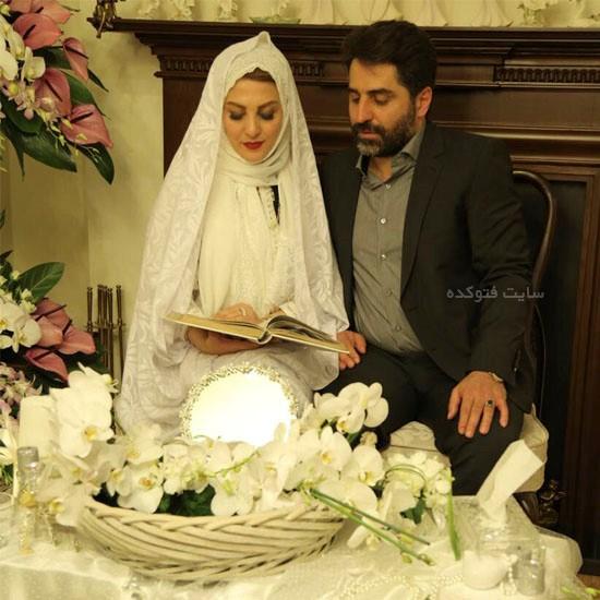 عکس ژیلا صادقی و همسرش محسن رجبی + بیوگرافی کامل