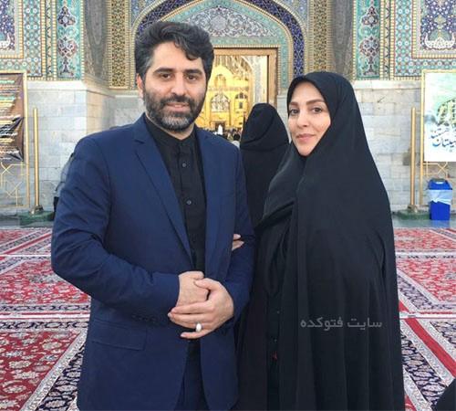 عکس و بیوگرافی ژیلا صادقی و همسرش محسن رجبی