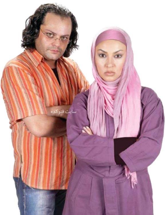 عکس زیبا بروفه و همسرش پیام صابری + ماجرای لو رفتن فیلم عروسی