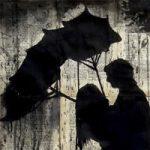 عکس های عاشقانه زیر باران + متن های زیبای بارانی