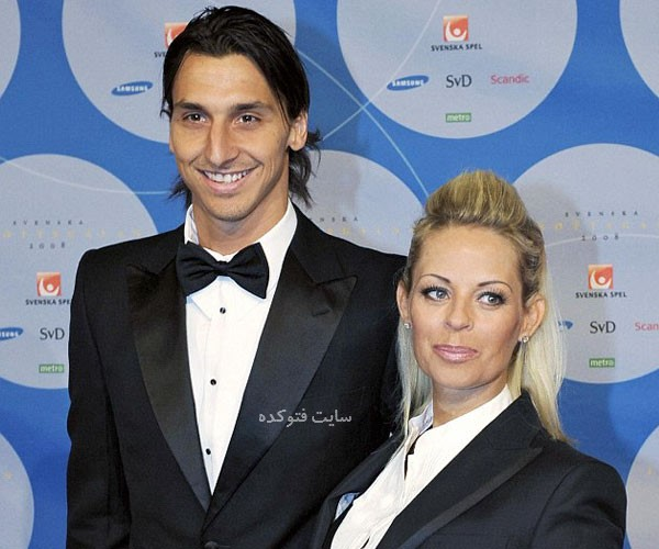 زلاتان ابراهیموویچ و همسرش + بویگرافی