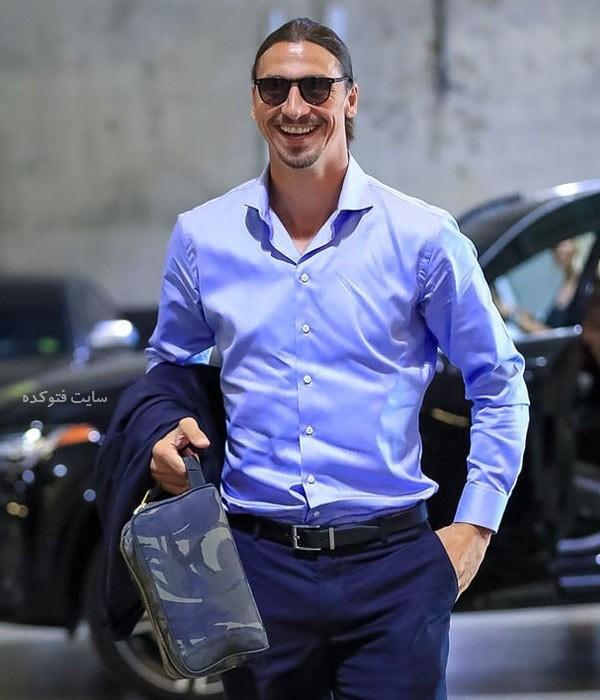 بیوگرافی زلاتان ابراهیموویچ بازیکن فوتبال با عکس