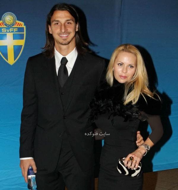 زلاتان و همسرش هلنا سوگر + بیوگرافی